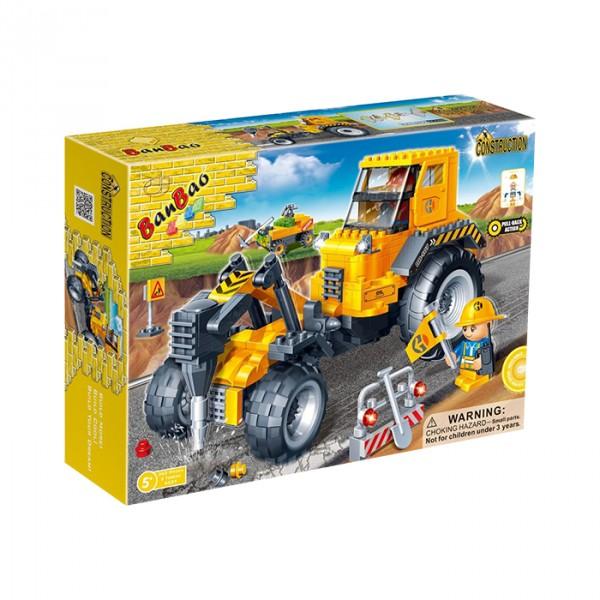 【BanBao 積木】工程系列-鑽地機 8537 (樂高通用) (單筆訂單購買再加送積木拆解器一個)