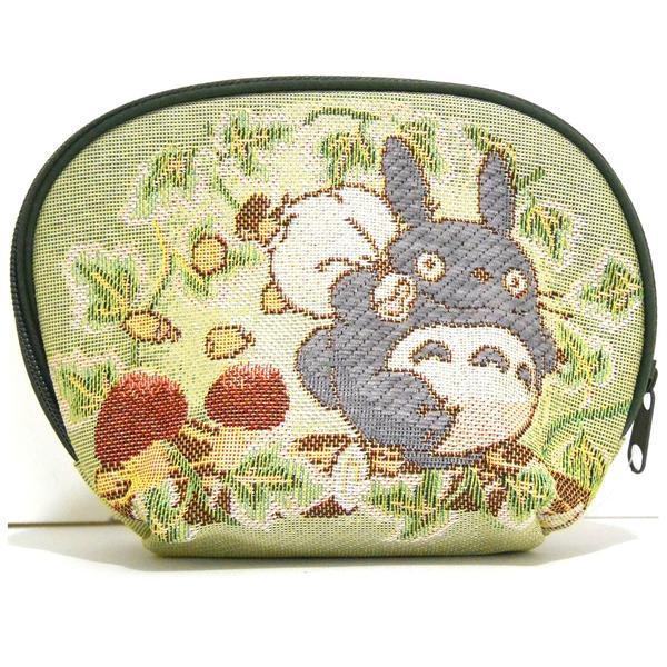 【真愛日本】16070600062戈布蘭織化妝包-灰龍貓背包  龍貓 TOTORO 豆豆龍 化妝包 收納包 預購