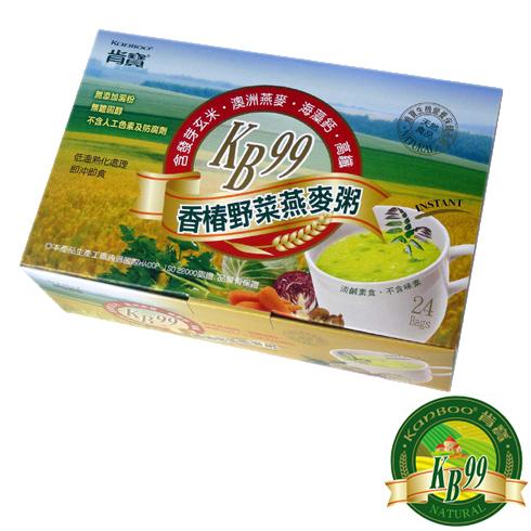 肯寶KB99香椿野菜燕麥粥(24包/盒)〔網購家〕