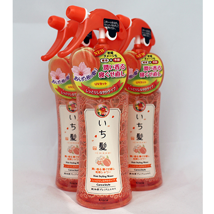 【敵富朗超巿】KRACIE-女髮順髮髮霧/雙重保濕 (250ml/瓶)