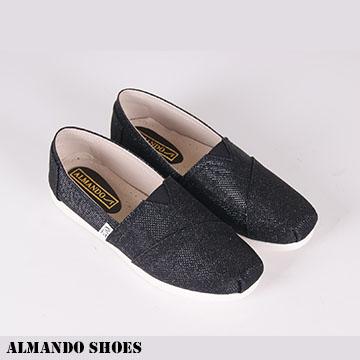 ALMANDO-SHOES ★閃耀亮面懶人休閒鞋★MIT