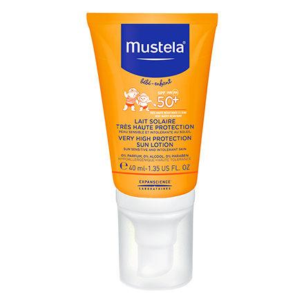 【淘氣寶寶】法國製 慕之恬廊 Mustela 高效性兒童防曬乳SPF50+【40ml】【專櫃正品】