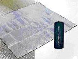 【露營趣】中和 嘉隆 台灣製造 2mm 300x300 鋁箔睡墊 速可搭 coleman logos 6~8人帳篷可用 k-6610
