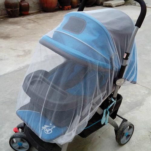 【親親寶貝】日式頂級嬰兒車專用蚊帳/手推車蚊帳/娃娃車蚊帳/防蚊罩細緻紗網透氣舒適(嬰幼兒防蚊必備)