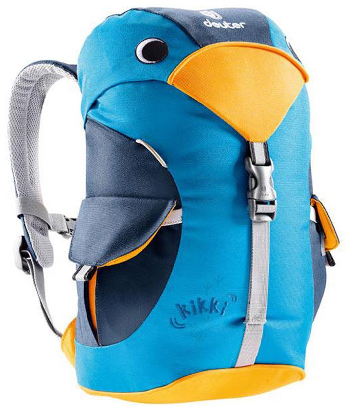 【鄉野情戶外專業】 Deuter |德國| kikki 6L 登山露營旅行/兒童雙肩背包/幼兒背包/兒童包 藍/水藍  36093