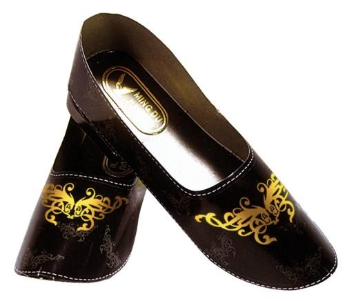 B53 精雅燙金女皮鞋