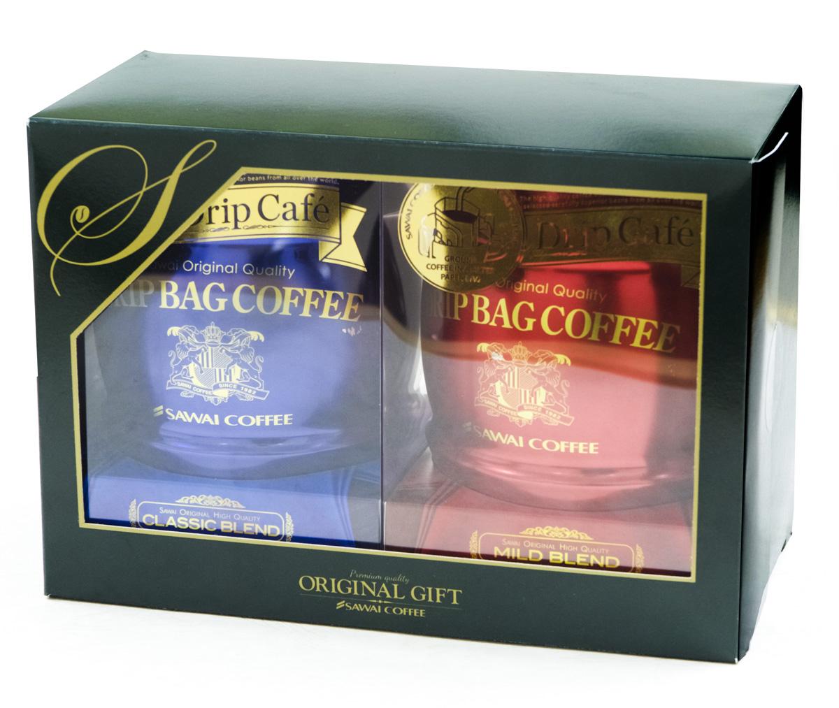 澤井咖啡樽罐掛耳咖啡2入禮盒 經典.溫和.香醇口味可任選.買一罐送一罐