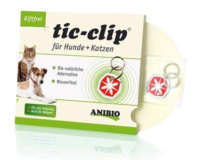 【恰恰】德國家醫寵物保健系統-Tic-clip驅蟲魔力磁