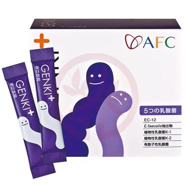AFC宇勝淺山 元氣每日快調顆粒食品(乳酸菌)(60包/盒)