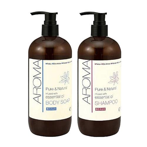 日本Deve熊野 AROMA 精油系列 天然香精 洗髮精/沐浴乳 480ml