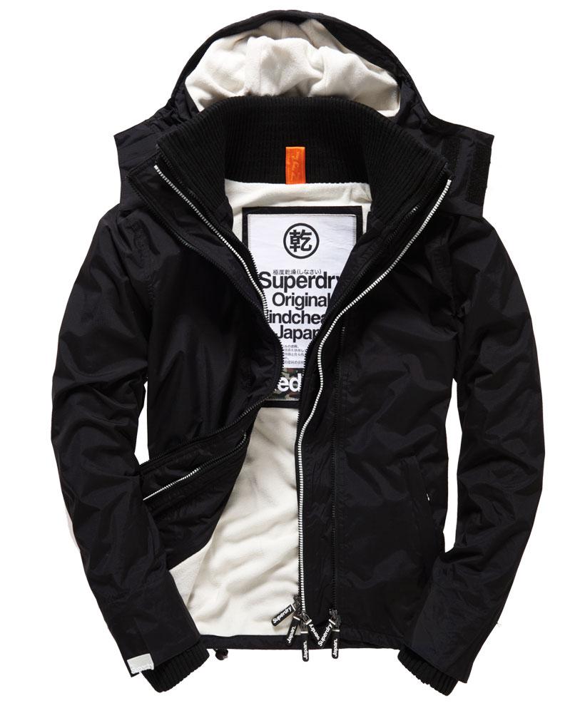 [男款] 英國代購 極度乾燥 Superdry Arctic 男士風衣戶外休閒 外套夾克 防水 防風 保暖 黑色/白色
