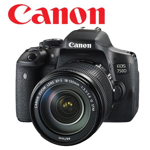 Canon 750D 含鏡頭 18-135mm STM 鏡頭。【送 32G+清潔組+保護貼 】 彩虹公司貨