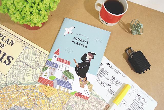 《Dimanche迪夢奇》鋼鋼好書寫系列 旅遊計畫本 - 魔法款.掃帚
