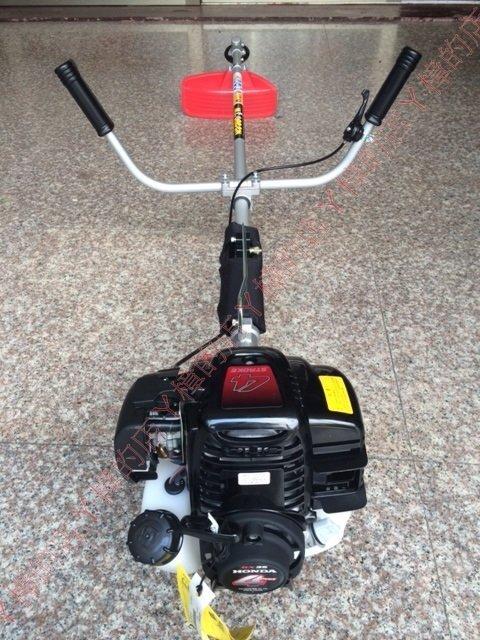 HONDA本田GX35肩掛式硬管四行程割草機(黑色機種非KM435U)-環保