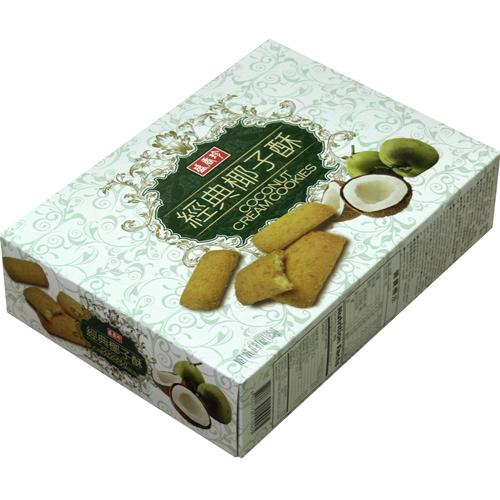 《盛香珍》經典椰子酥195gX10盒入(箱)