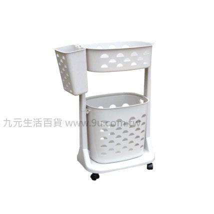 【九元生活百貨】聯府 F01 新生活衣物分類架(附輪)