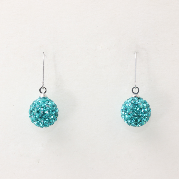 Cystelball 耳環(Tiffany 藍)