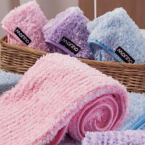 【MORINO摩力諾】超細纖維素色小手巾