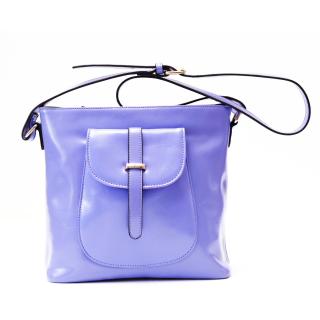【Ve vitalise】前蓋造型時尚休閒包(粉紫色)