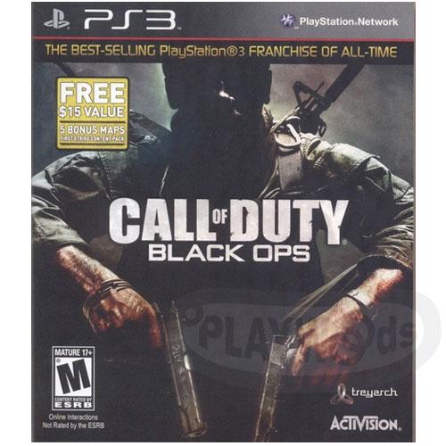 【Playwoods】[PS3遊戲]決勝時刻:黑色行動Call of Duty: Black Ops 白金版(平價版/英文亞版/限制級/第一人稱射擊/使命召喚/暗黑行動/休閒娛樂/Activision..
