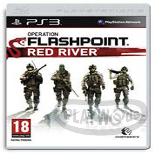 【Playwoods】[PS3遊戲]閃擊點行動:血色長河Operation Flashpoint:Red River(英文亞版-限級-射擊)