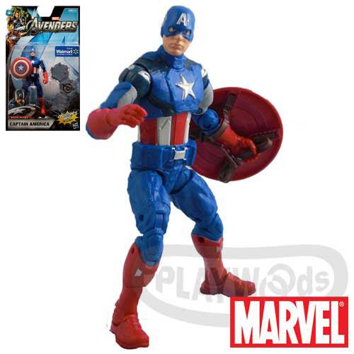 【Playwoods】[復仇者聯盟Avengers]6吋人物組:美國隊長Captain America-電影系列Movie Series(驚奇英雄Marvel超人/鋼鐵人3/Iron Man3)