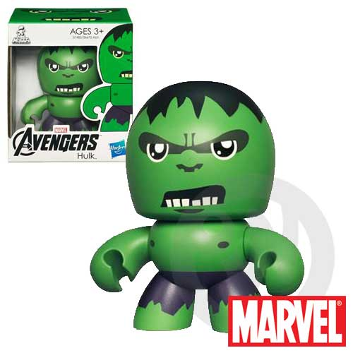 【Playwoods】[復仇者聯盟Avengers]Mini Muggs-酷版 綠巨人 浩克Hulk迷你 公仔(現貨-驚奇英雄Marvel超人/鋼鐵人3/Iron Man3)