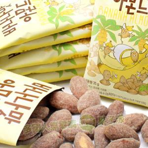 韓國超夯 香蕉味蜂蜜杏仁果/堅果 [KR261]