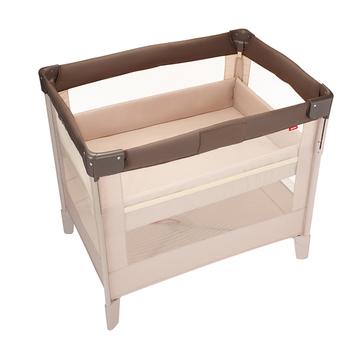 Aprica愛普力卡 - COCONEL Air 任意床(可攜帶式嬰兒床) -拿鐵棕