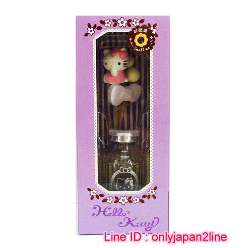 【真愛日本】16112300019室內闊香薰香20ml-KT守護天使紫  三麗鷗 Hello Kitty 凱蒂貓 芳香劑 除臭劑