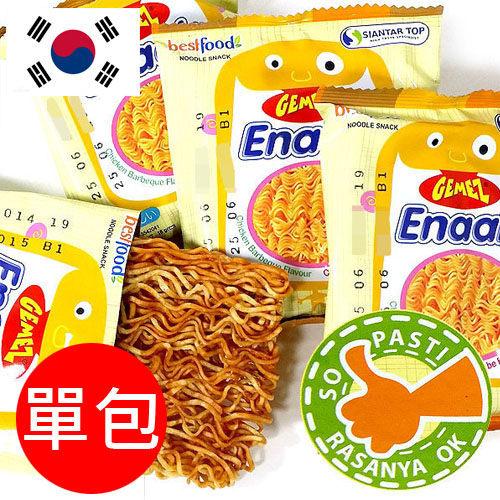 韓國 Enaak 小雞脆麵(單包16g) 點心麵 隨手包 香脆 雞汁 小雞麵