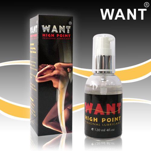 [漫朵拉情趣用品]WANT高點激情潤滑液 120ml DM-9181406
