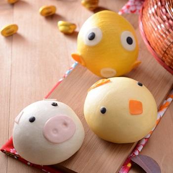 【奇美饅頭】動物造型饅頭-3款組合