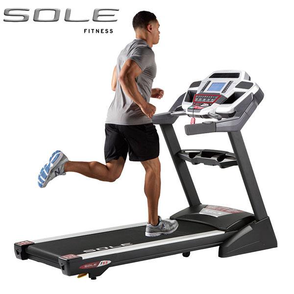 《跑動時尚》SOLE F65 電動跑步機《前衛時尚款》全機五年保固