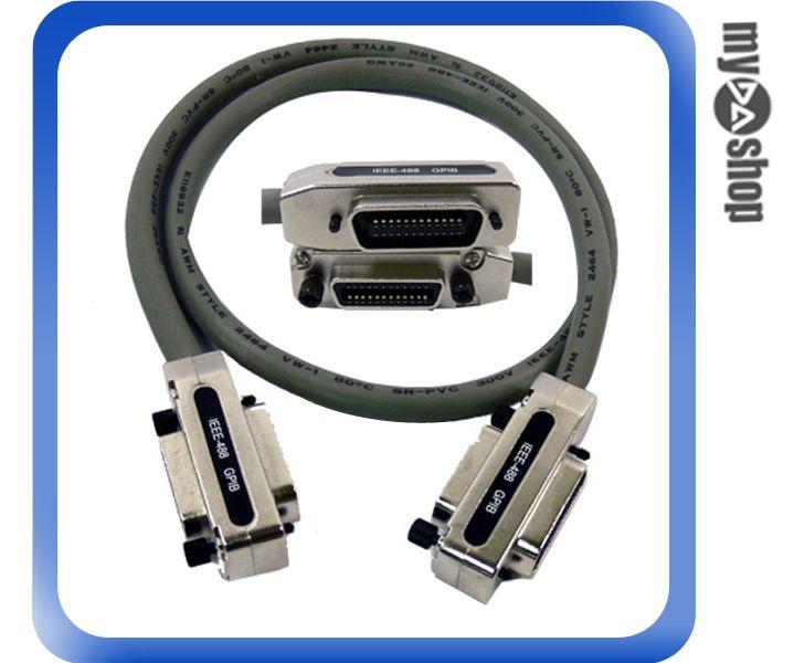 《DA量販店A》全新 1米 GPIB IEEE-488 傳輸線 測量/儀器/NI/HP/示波器用 (12-038)