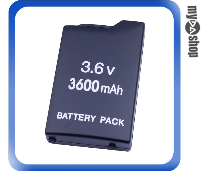 《DA量販店》Sony PSP 遊戲機 厚型2000型 主機 專用 鋰電池 3.6V 3600MAH(13-1087)