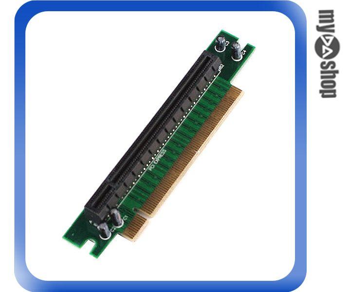 《DA量販店》全新 電腦 PC 桌機 PCI-E 90度 周邊 週邊 配件 轉接卡 (20-1891)