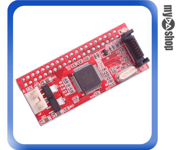 《DA量販店A》桌上型 PC 專用 IDE 40 PIN TO SATA 專用 轉接卡/介面卡 (20-677)