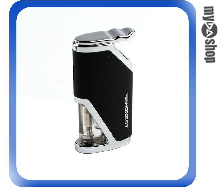《DA量販店》全新 酷炫 防風 造型 打火機 可填充瓦斯 黑色 攜帶方便 (37-944)