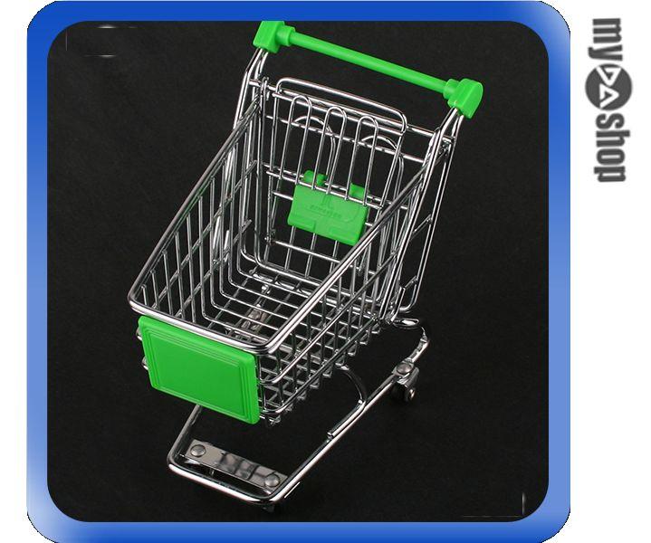 《DA量販店》全新 創意 迷你 購物車 置物車 可愛又實用 趣味小物 可放小東西(59-1210)