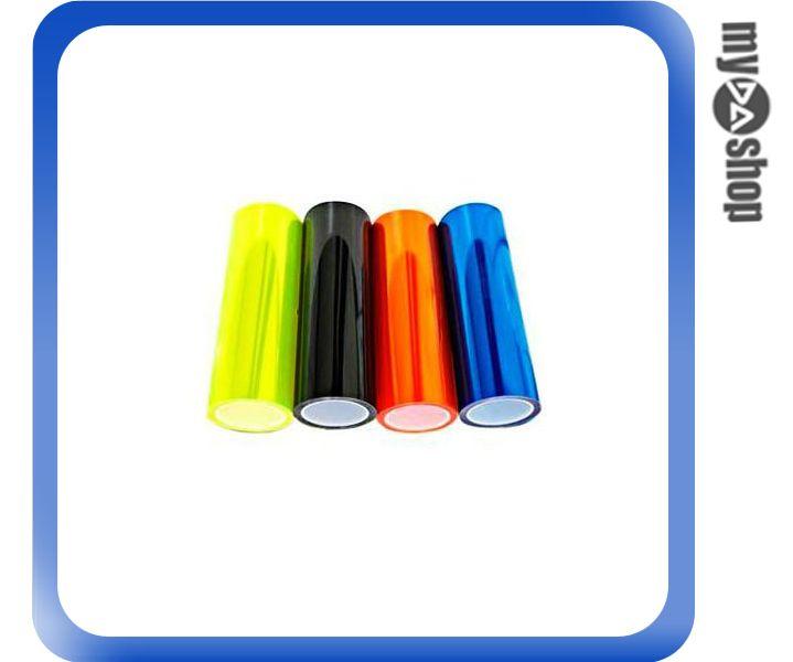 《DA量販店》大燈 霧燈 尾燈 車燈 改色 霧面 貼膜 淺藍 10cm (79-2632)