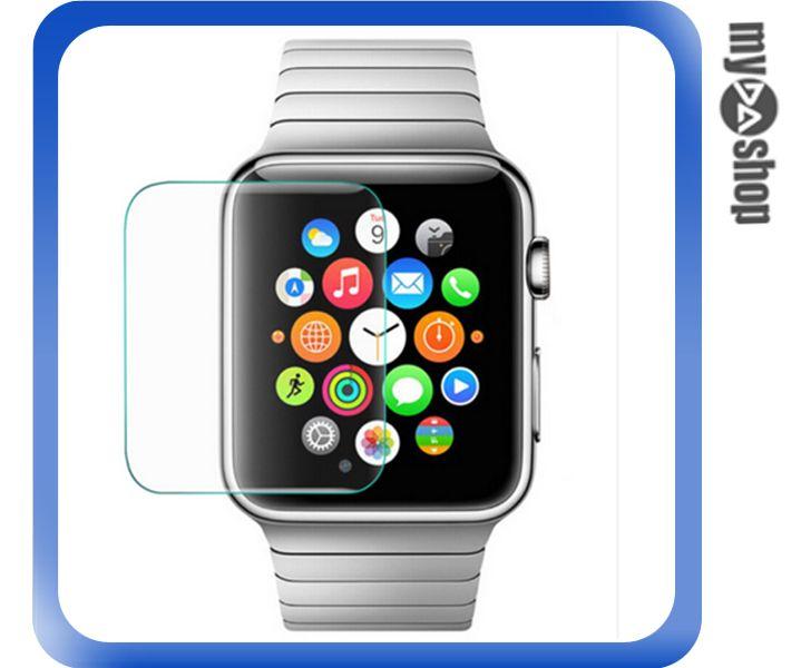 《DA量販店》Apple watch 38mm 手錶 鋼化膜 玻璃 保護膜 保護貼(80-2033)