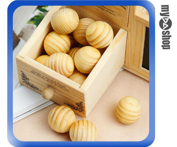 《DA量販店》純天然 樟腦球 防黴 防蛀 防蟲 抽屜 衣櫥 衣櫃 香熏木球(V50-0197)