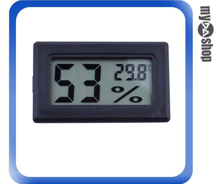 《DA量販店》小型 電子 數字式 電池 溫濕度計 溫度計 濕度計(V50-0404)