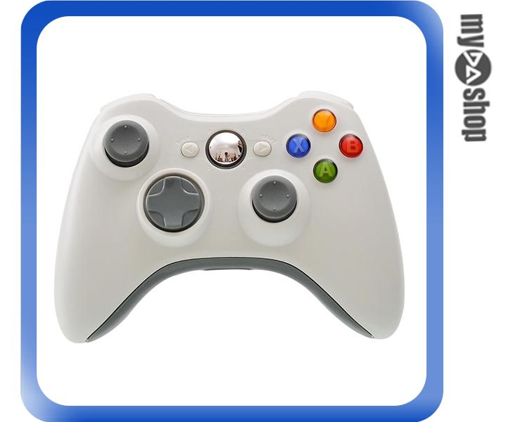 《DA量販店》XBOX360 無線 手把 搖桿 無線2.4G XBOX360 PS3 PC 白色(W94-0007)