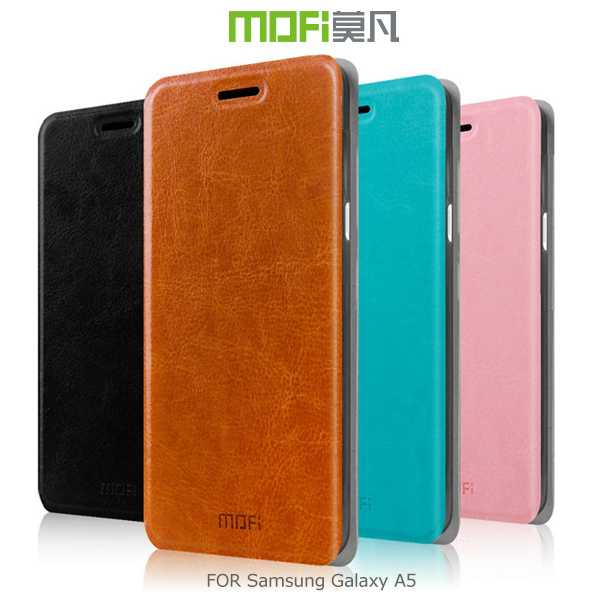 強尼拍賣~ MOFI 莫凡 Samsung Galaxy A5 /睿系列側翻皮套 保護殼 保護套