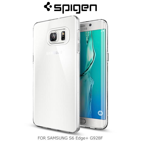 強尼拍賣~Spigen SAMSUNG Galaxy S6 Edge Plus Liquid Crystal 保護殼
