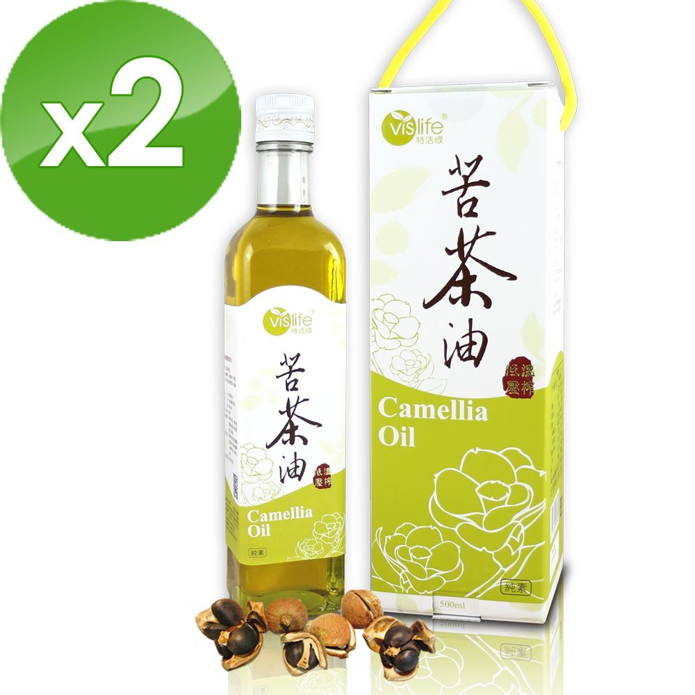 【特活綠】冷壓苦茶油2瓶?炒菜、燉湯、補身、做月子都適用