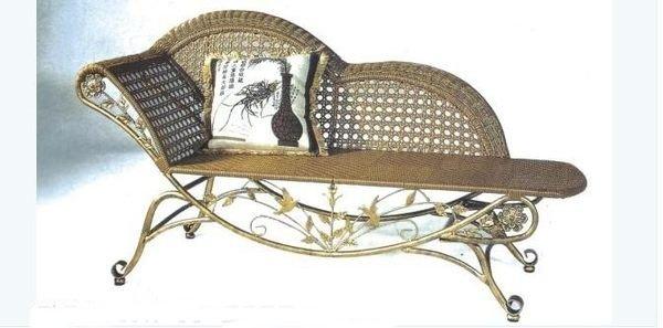 《Chair Empire》貴妃椅躺椅貴妃床沙發美人榻逍遙椅古典太妃椅仿藤鐵藝雕花