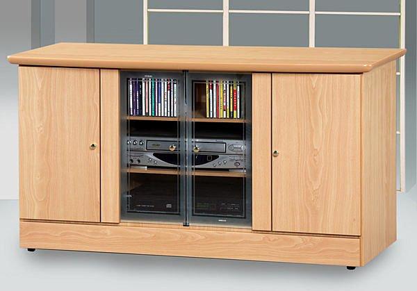 【尚品家具】投資客超愛~628-01山毛4尺電視櫃矮櫃儲櫃長櫃~另有白橡柚木胡桃色、2尺、3尺
